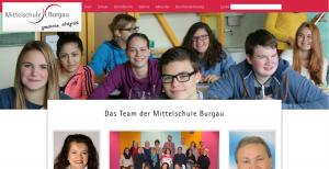 Mittelschule Burgau Screenshot